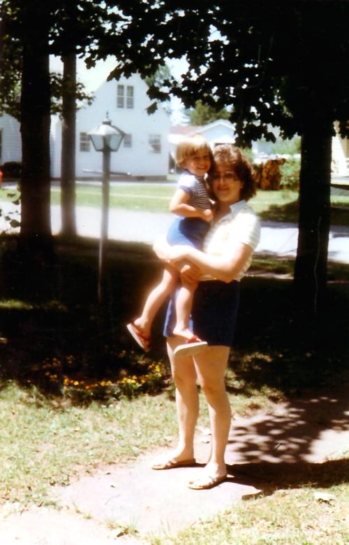 Me and Mom - 1982